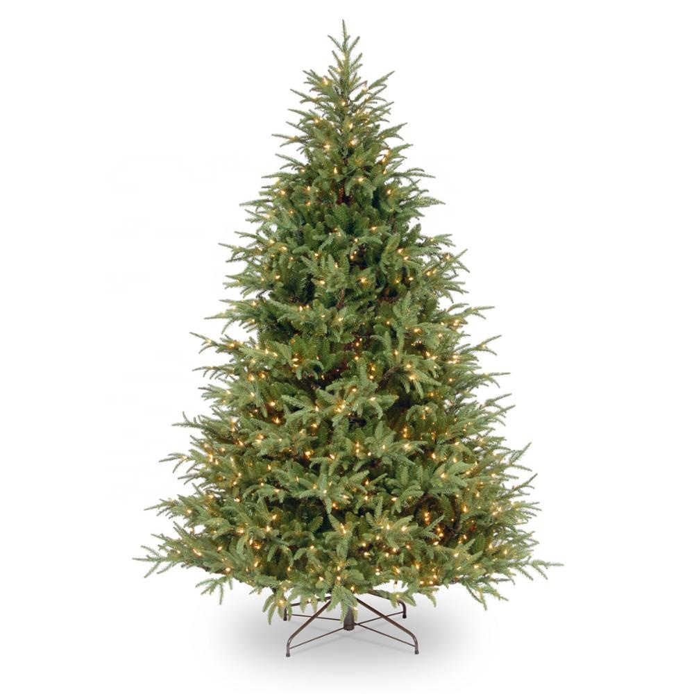 Xmas Tree White Pink Blue Green Color