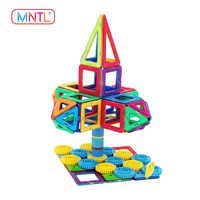 ABS plastic building blocks toys educational magnetic construction building set toys