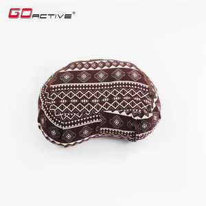 GoActive Best Quality Buckwheat Hulls Yoga Zafu Meditation Cushion / Bolster Pillow For Yoga Exercise