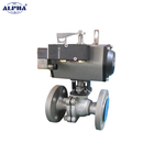 Best price double shaft air pneumatic actuator control valve