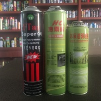 spray adhesive metal can