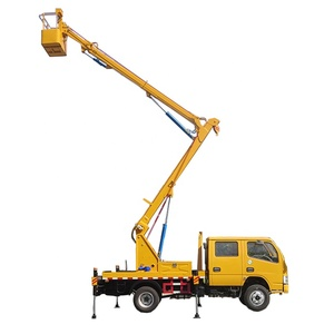12-14m high-altitude operating truck mounted aerial work platform