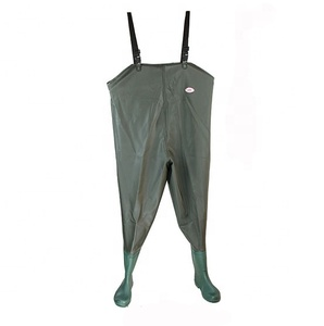 supply different types camo neoprene men chest waist hip fly fishing wader with footboots