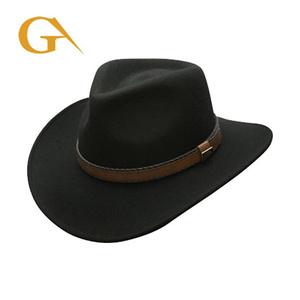 0da494bd9 Custom Logo Wholesale Wool Felt Cowboy Hat