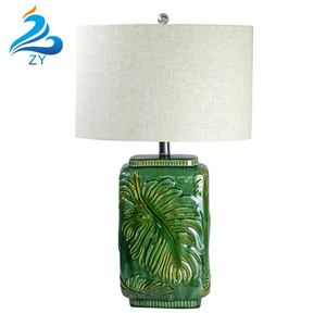 Modern Ceramic Base Table Lamp Light