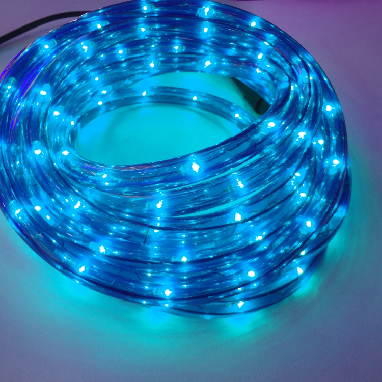 swimming pool super bright waterproof underwater lighting round 2 wires led  rope lights