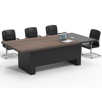 Melamine sheet super big size office furniture meeting room conference table