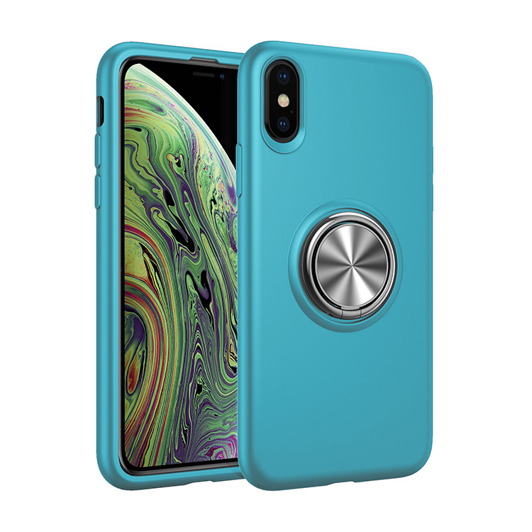 Eastmate New For Iphone Xs Max Soft Tpu Anti Shock Ring Holder Phone <strong>Case</strong>
