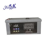 high capacity sealed rechargeable 12v 200ah vrla AGM gel solar storage lead acid gel battery