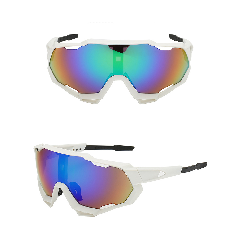 Custom Cycling Glasses Oversized PC UV400 Spring Hinge Outdo Sports Sunglasses фото