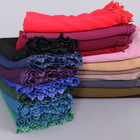 new style shawl scarf hair scarf arab Muslim lace hijab for ladies and women 0419038