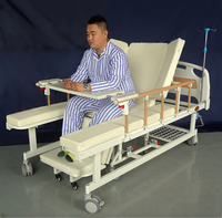 5 function paralyzed patients home care disabled manual nursing medical hospital chair bed with toilet