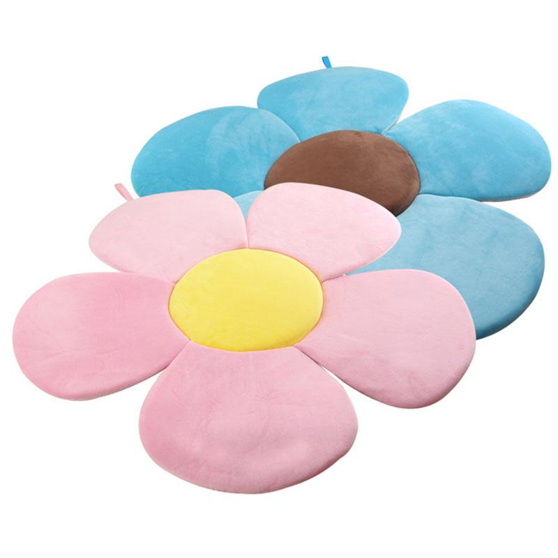 Flower Sponge Mat Baby Bath Pillow Newborn Bathing Accessories Use In Sink M90430 фото
