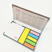 Custom hard shell cover sticky notes + plastic PET mark for learning ,office, advertising, gifts