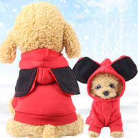 Whosale 7sizes multi color Blank Dog Hoody for small and big dog