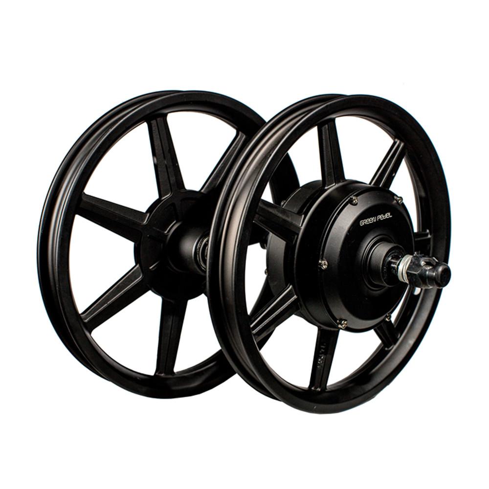Greenpedel 36V 48V 500W 750W casting wheel 4.0 fat tyre pedelec bike kit electric