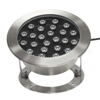 3W 9W 18W 24W DC24V RGB RGBW Waterproof Underwater Led Pool Pond Spot Light