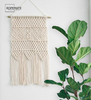 Macrame Wall Hanging Art Woven Home Decor Apartment Dorm Room Decoration For 2019