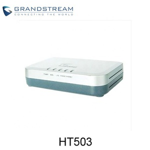 In stock Grandstream HT503 FXS and FXO WIFI VoIP ATA New Model HT813
