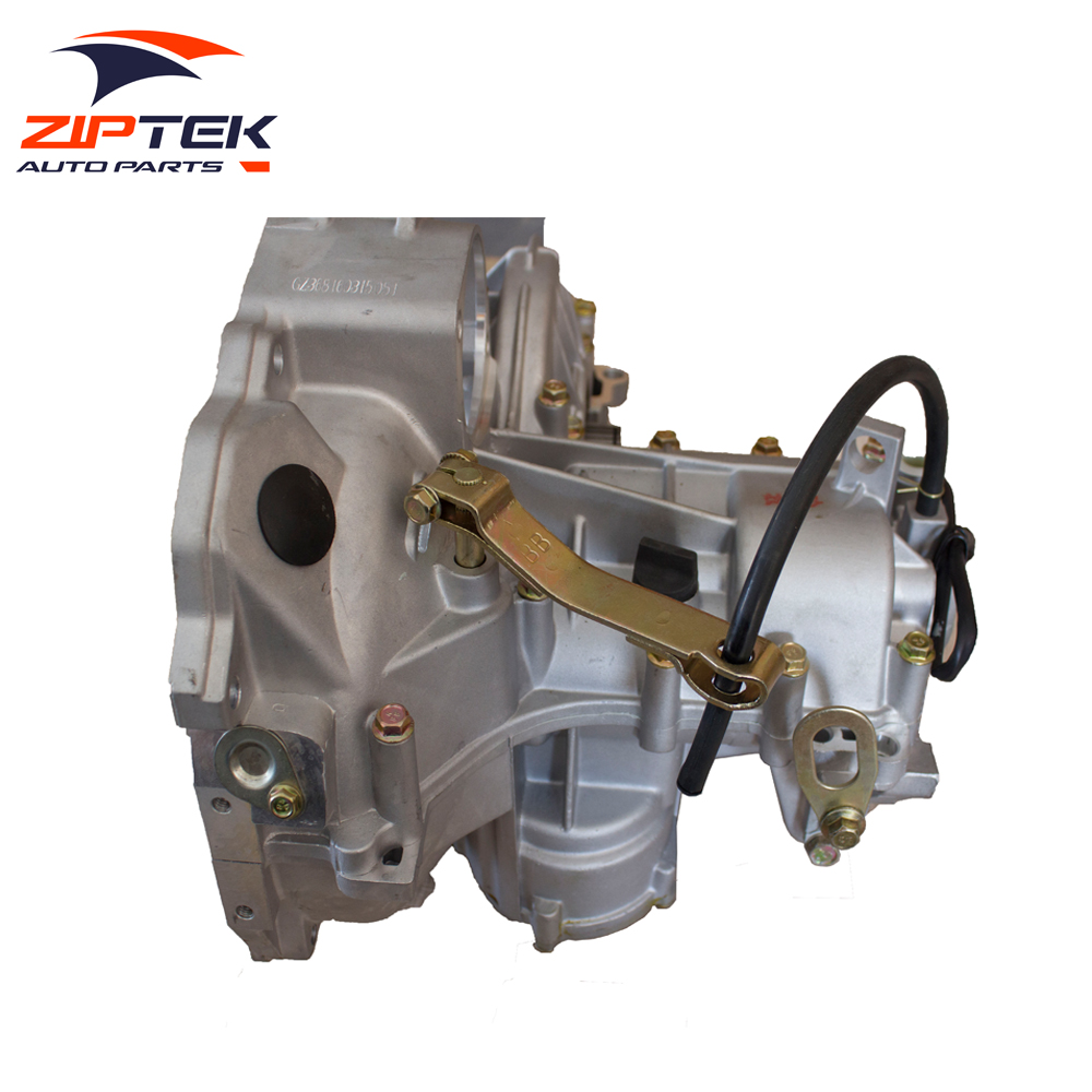 Ziptek car engine parts Aluminum Car Gearbox 368 engine gearbox Gearbox for changan SC7080/JL368Q