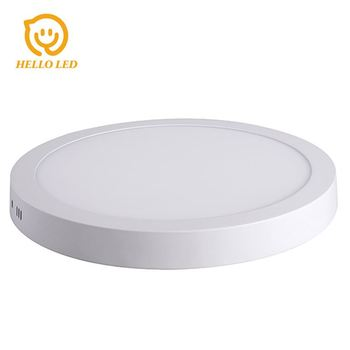 Best price 3 color change surface mount round 18w led ceiling panel light