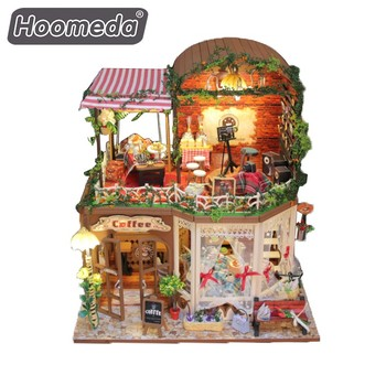 Build Your Own Dolls House Kit 1/24 Scale Model Houses Diy Home - Buy Diy  Home,Scale Model Houses,Build Your Own Dolls House Kit Product on