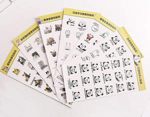Shenzhen Hot Promotional custom sticker silicone adhesive stickers