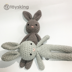 Amigurumi Crochet Bunny Rabbit Toys with Skirt Customized Size Color Package for Sale from China Factory