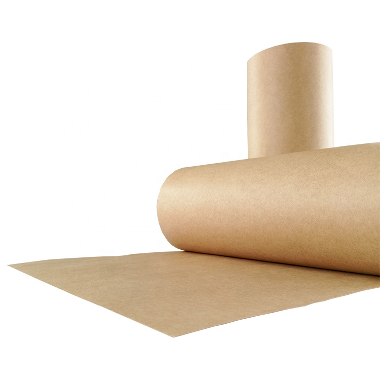 Natural brown presspan motor folha jumbo rolo de papel kraft