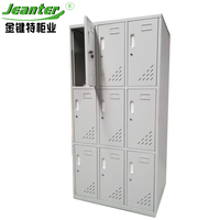 Modern Design Factory Direct supply durable steel 9 door locker
