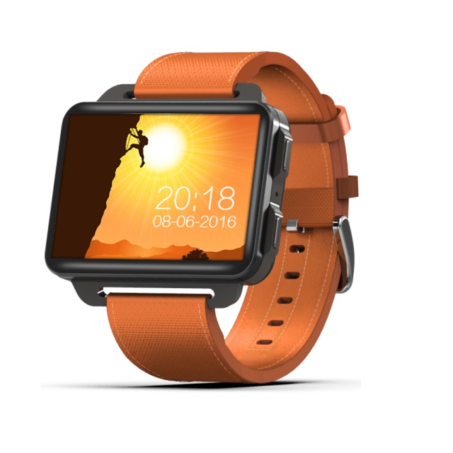 2019 Latest 1200mAh Battery Android 5.0 Smart Watch Phone DM99 Support HR GPS 3G фото