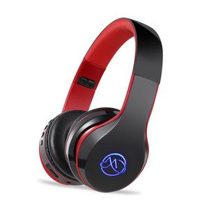 Portable active led headband headphone earphones BT music wireless stereo mp3 player for sports
