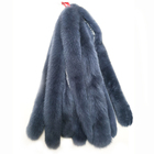 Factory price wholesale real fox fur collar and mink fur big fur collar