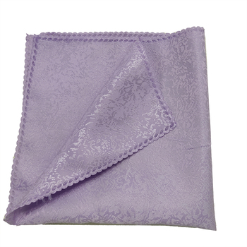 Elegant cheap lilac table cloth napkins for wedding
