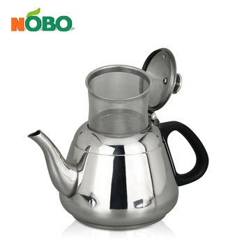 Elegant Design Stainless Steel Tea Kettle Hot Water With Infuser