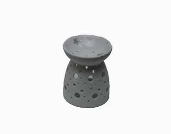Wholesale Hollow Out Ceramic Oil Burner Tealight Candle Holder Fragance Oil Burner
