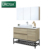 modern open shelf 4 foot vanity bathroom mirror cabinet with leg floor standing storage bathroom cabinet