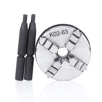 Wholesale supply K02 series four jaws 50 mm -100 mm manual self centering lathe chucks at low price