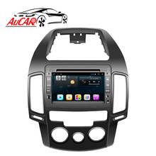 "Aucar 7 ""Android <span class=keywords><strong>Mobil</strong></span> Radio untuk Hyundai I30 2007-2011 Touch Screen <span class=keywords><strong>Stereo</strong></span> Video Audio GPS Bluetooth Multimedia bt 4G IPS Wifi"