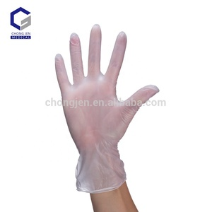 High quantity vinyl gloves powdered or powder free/Manufacture Disposable Latex Examination vinyl gloves for food handling