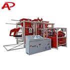 automatic brick making machine sand fly ash cinder block forming machinery