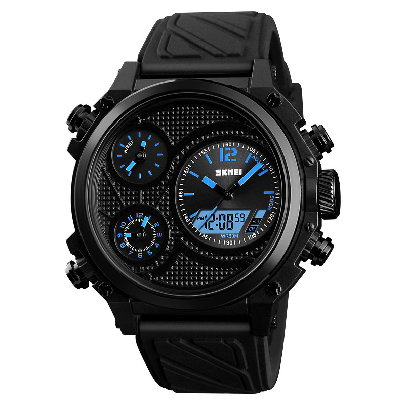 2019 Quality Fashion Men Sport Digital Watch Multi-function Japan Movt Quartz Watch Custom Your Brand Available Timepieces фото