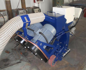Mobile Steel Surface Ship Deck Shot Blasting Machine