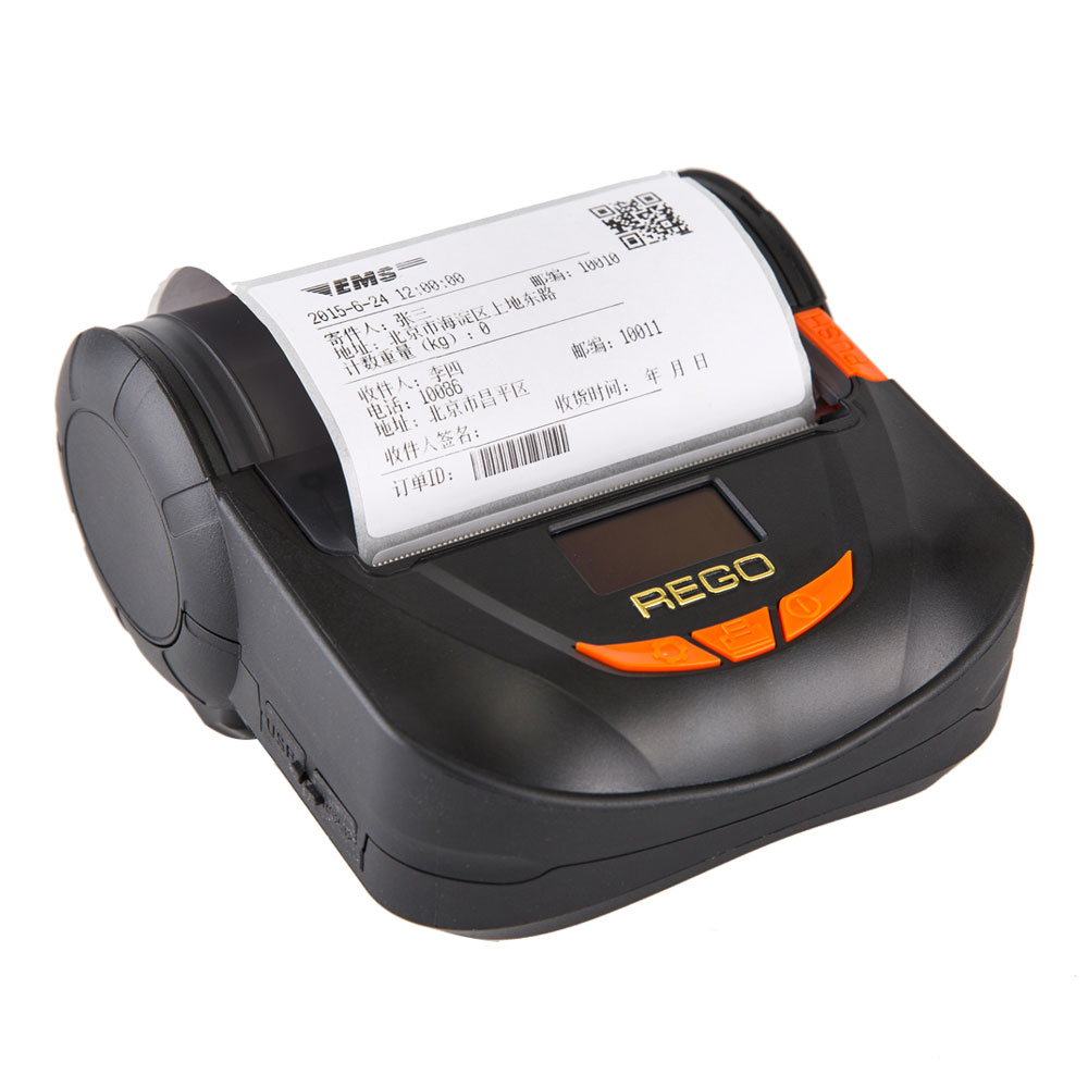 RG-MTP80B 80mm Mobile Thermal Bluetooth Receipt Printer For Android Tablet фото