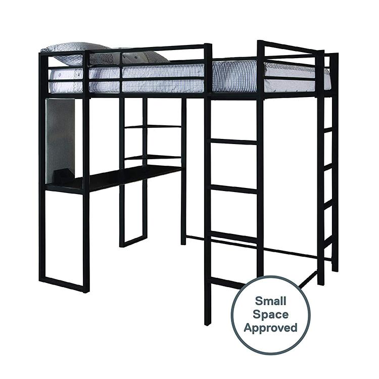 Free Sample Metal Duro Z Desk Loft Bunk Bed With Desk Loft
