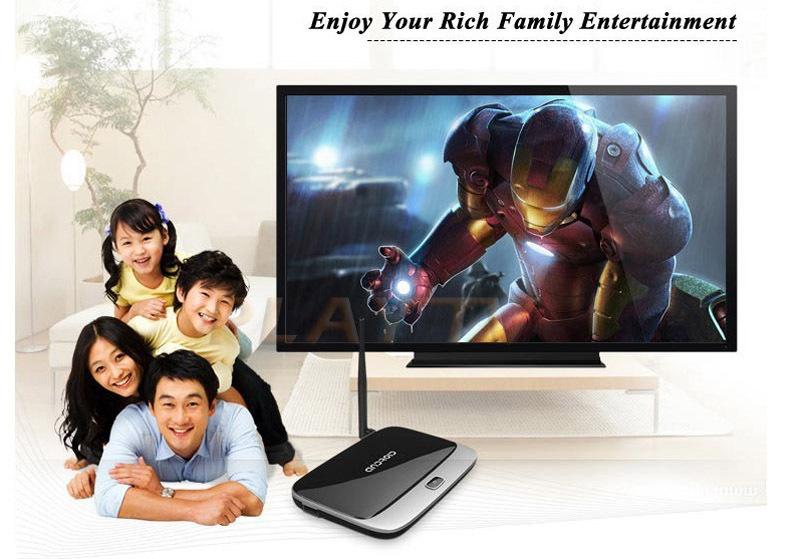 10PCS Original Android TV Box Q7 CS918 Quad Core RK3188 MK888 K-R42