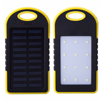 Universal Solar Power Bank 5000 mAh Manual For Power Bank Portable Solar Power Bank Charger