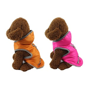 Winter pet supplies cotton dog thermal vest chinchilla poodle than bear pomerang autumn and winter clothing