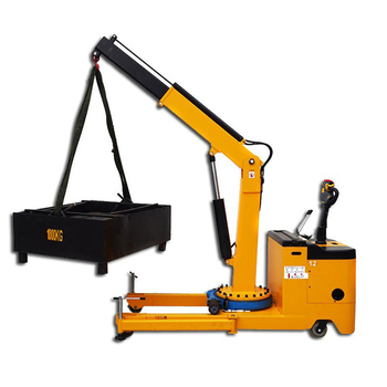 Electric Powered Counter Balance Floor Crane