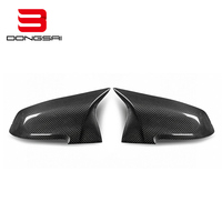 High quality carbon fiber+ABS black car mirror cover for BMW 3 Series F30